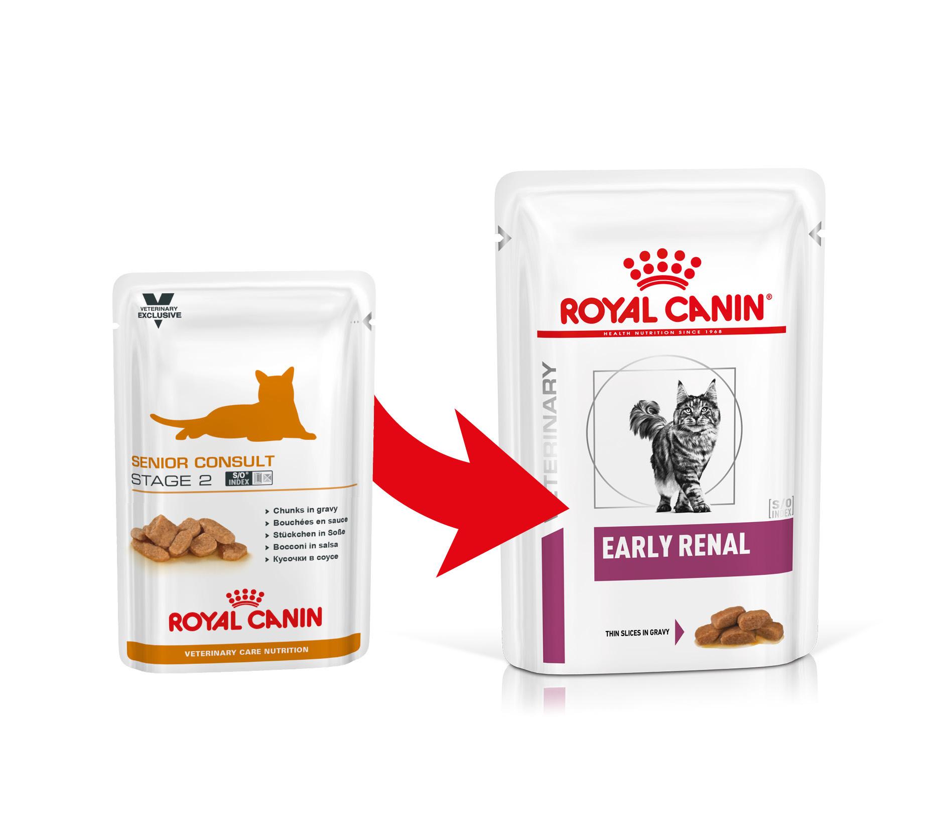 Royal Canin VCN Senior Consult Stage 2 Katzen-Nassfutter
