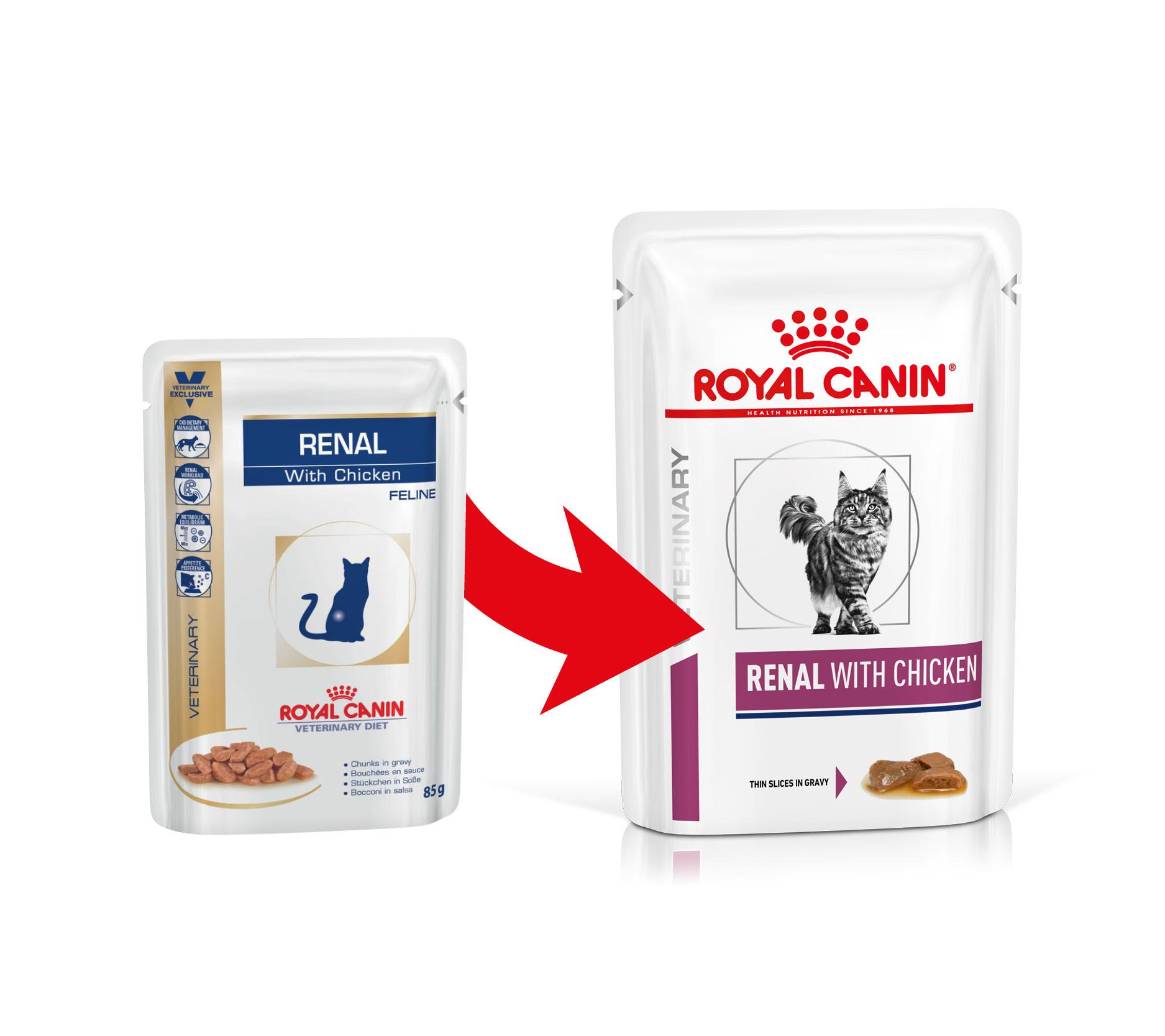 Royal Canin Renal Huhn Katzen-Nassfutter