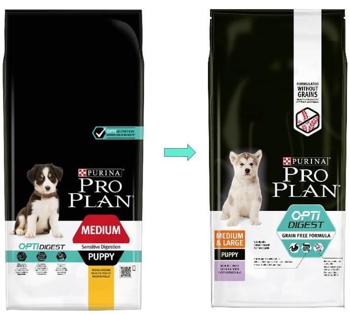 Pro Plan Puppy Medium Sensitive Digestion Optidigest Hundefutter