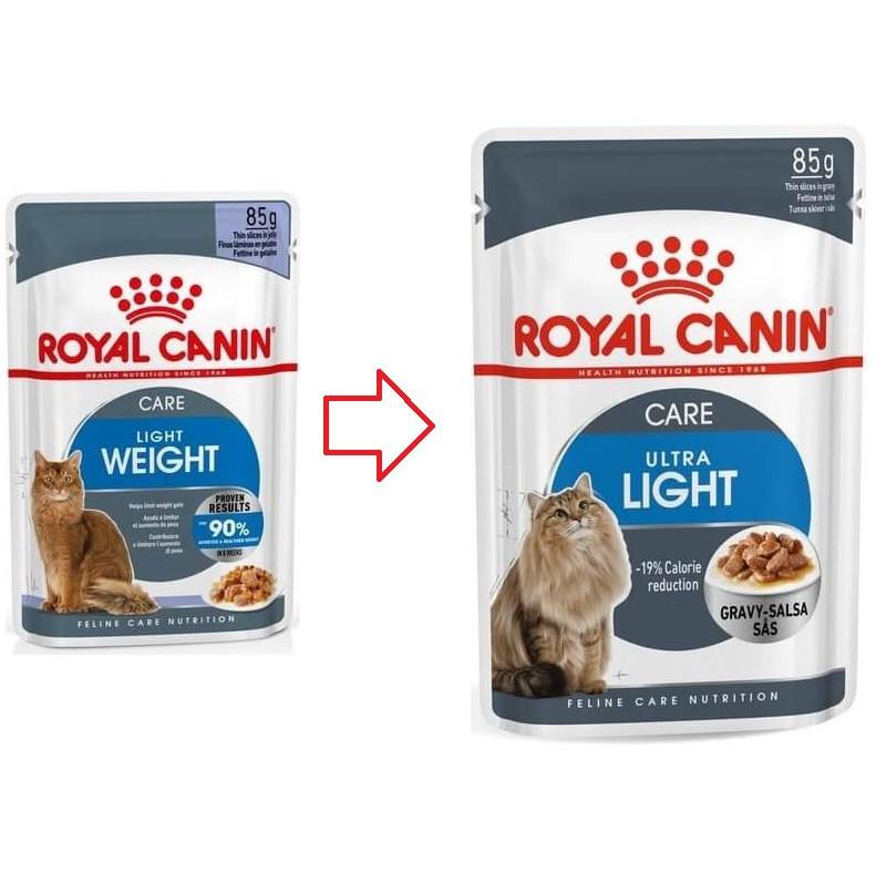 Royal Canin Light Katzen-Nassfutter x12