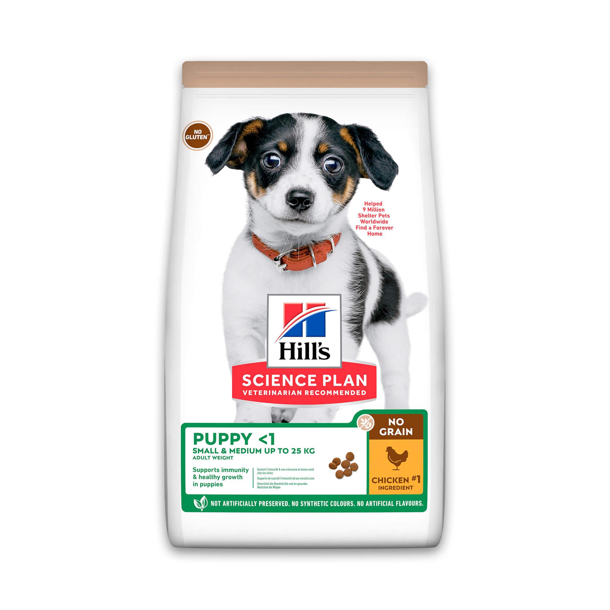 Hill's Puppy No Grain met kip hondenvoer