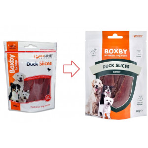 Boxby For Dogs Duck Slices