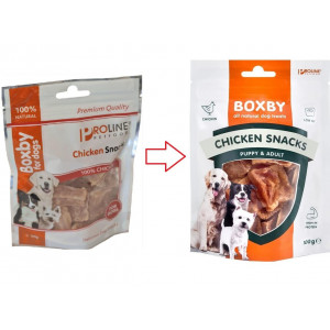 Boxby Chicken Hundesnacks