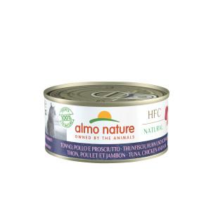 Almo Nature HFC Thunfisch, Huhn und Schinken Katzenfutter
