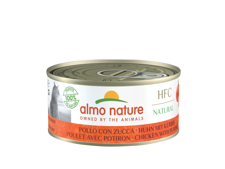 Almo Nature HFC Huhn mit KürbisKatzenfutter
