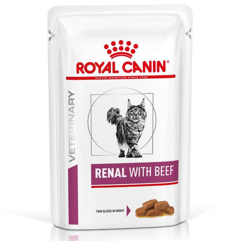Royal Canin Renal mit Rind Katzen-Nassfutter