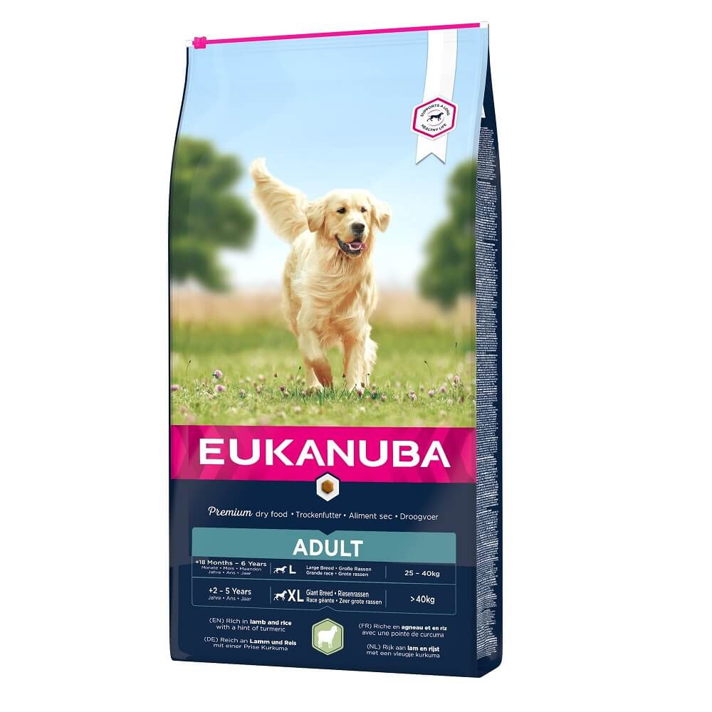 Eukanuba Adult Große Rassen Lamm & Reis Hundefutter