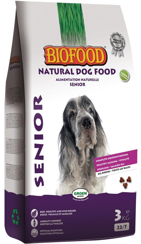 Biofood Senior Hundefutter