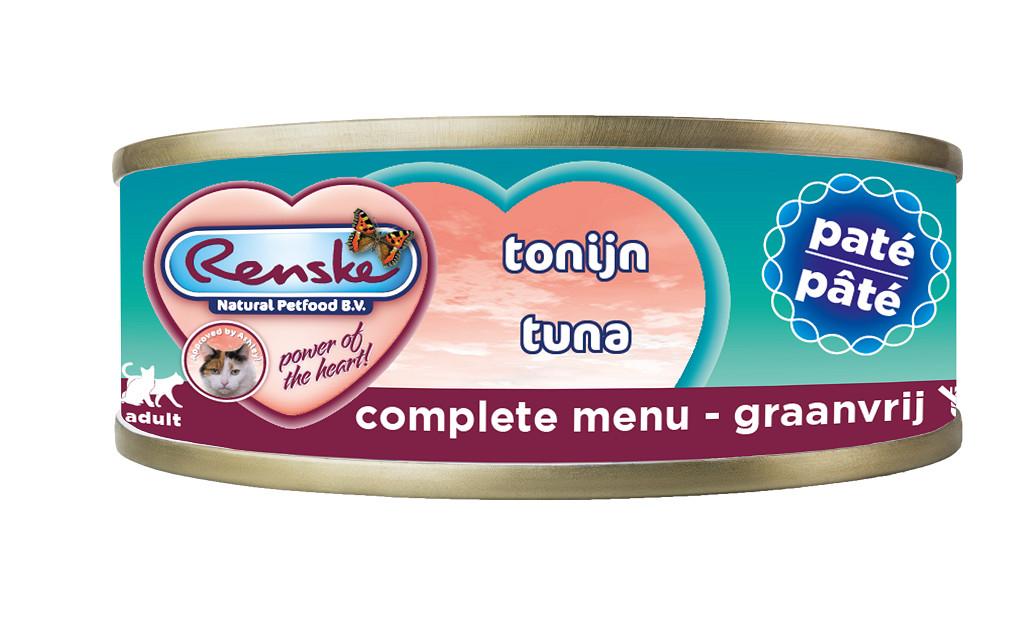 Renske Pastete Thunfisch Katzen-Nassfutter (70 g)