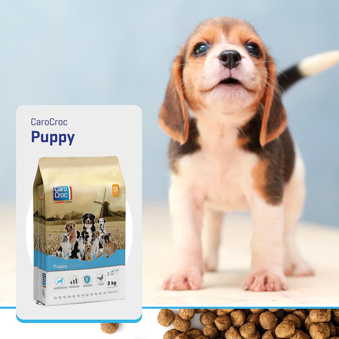 Carocroc 28/18 Puppy hondenvoer