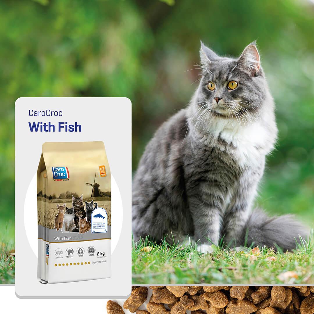 Carocroc 31/18 with Fish kattenvoer
