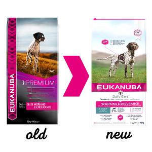 Eukanuba Leistung & Ausdauer Hundefutter