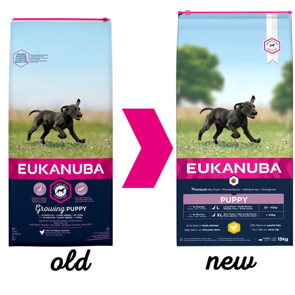 Eukanuba Growing Puppy Large Breed kip hondenvoer
