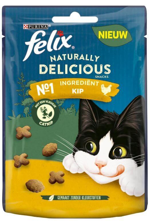 Felix Naturally Delicious Rijk aan Kip kattensnoep
