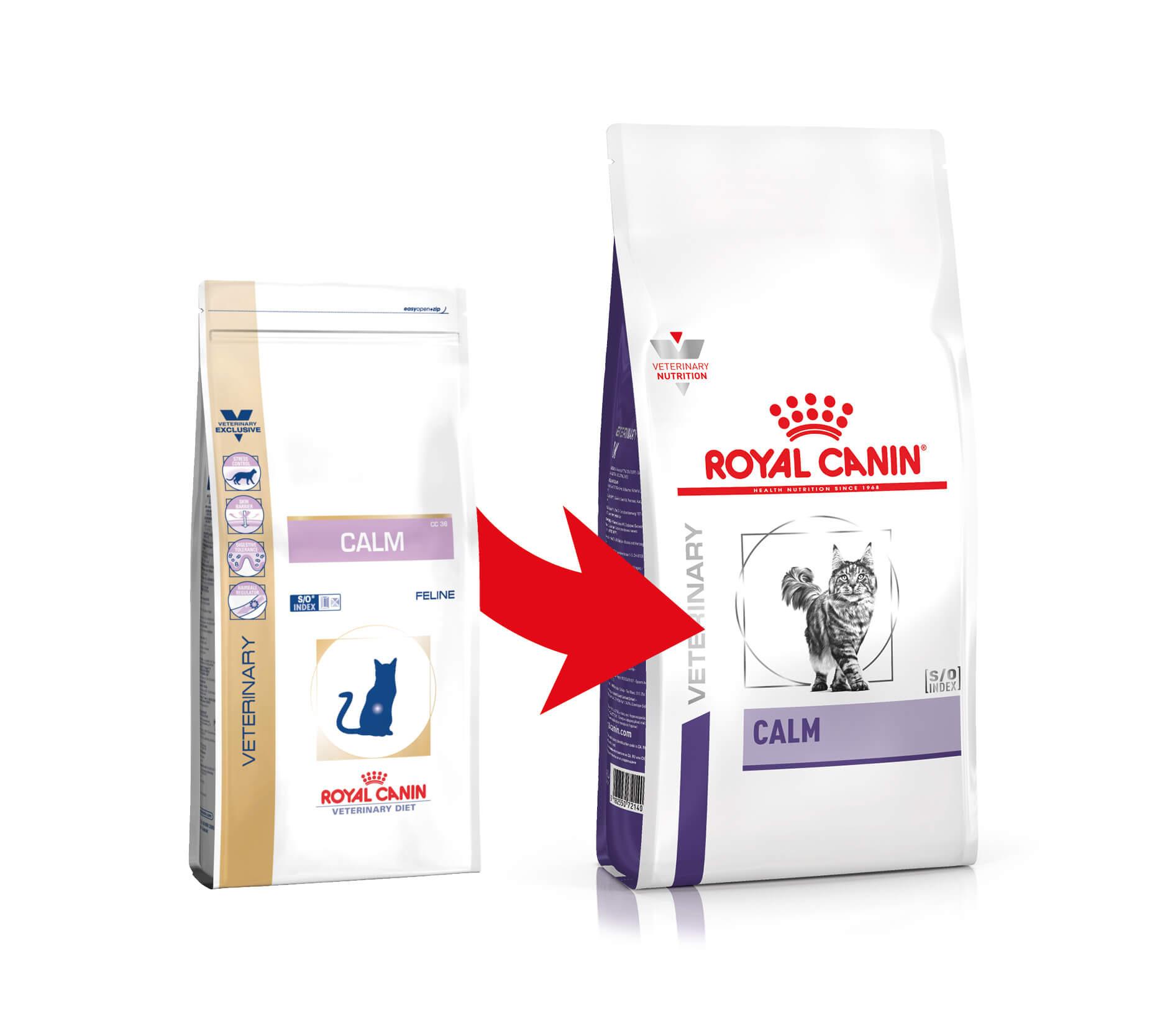 Royal Canin Veterinary Diet Calm Katzenfutter - CC 36