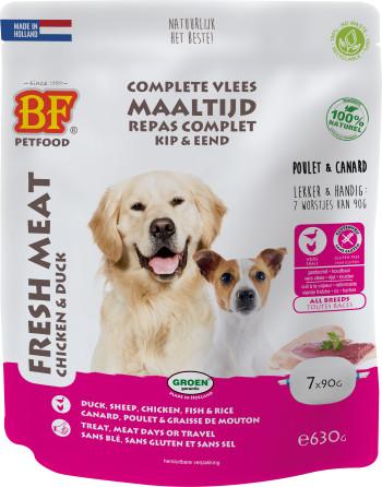 Biofood Frischfleisch Huhn mit Ente Hunde-Nassfutter