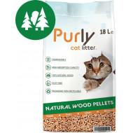 Purly Holzstreu Füllung für Katzentoilette