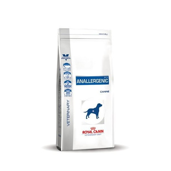 royal canin anallergenic hundefutter an 18 g nstig bei brekz. Black Bedroom Furniture Sets. Home Design Ideas