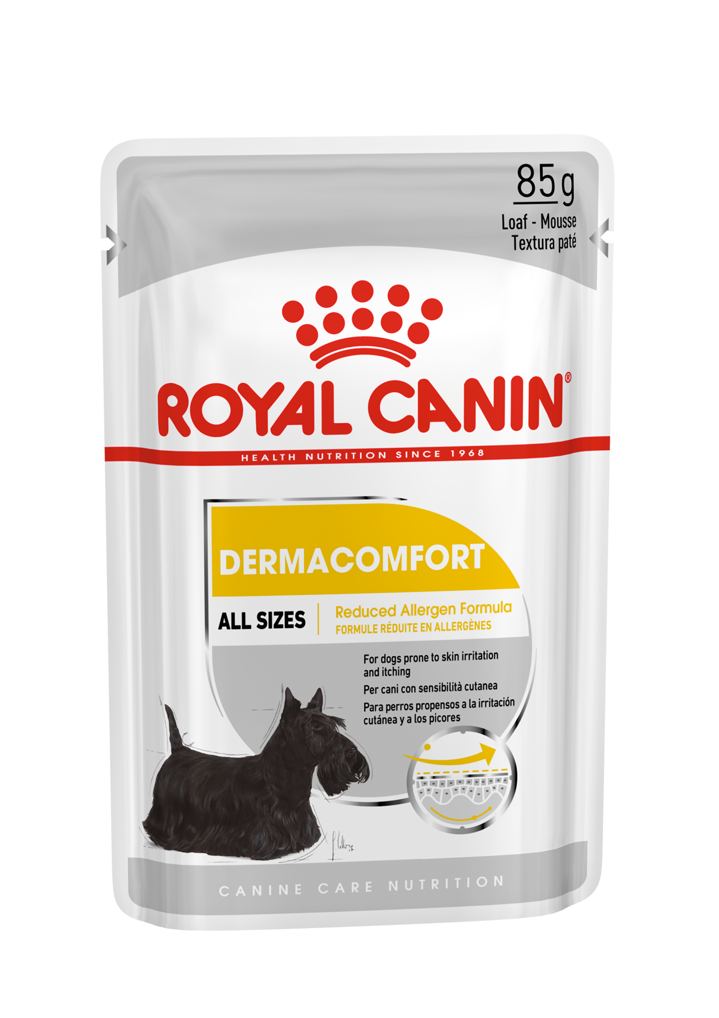 Royal Canin Dermacomfort natvoer 2 x (12 x 85 gram)