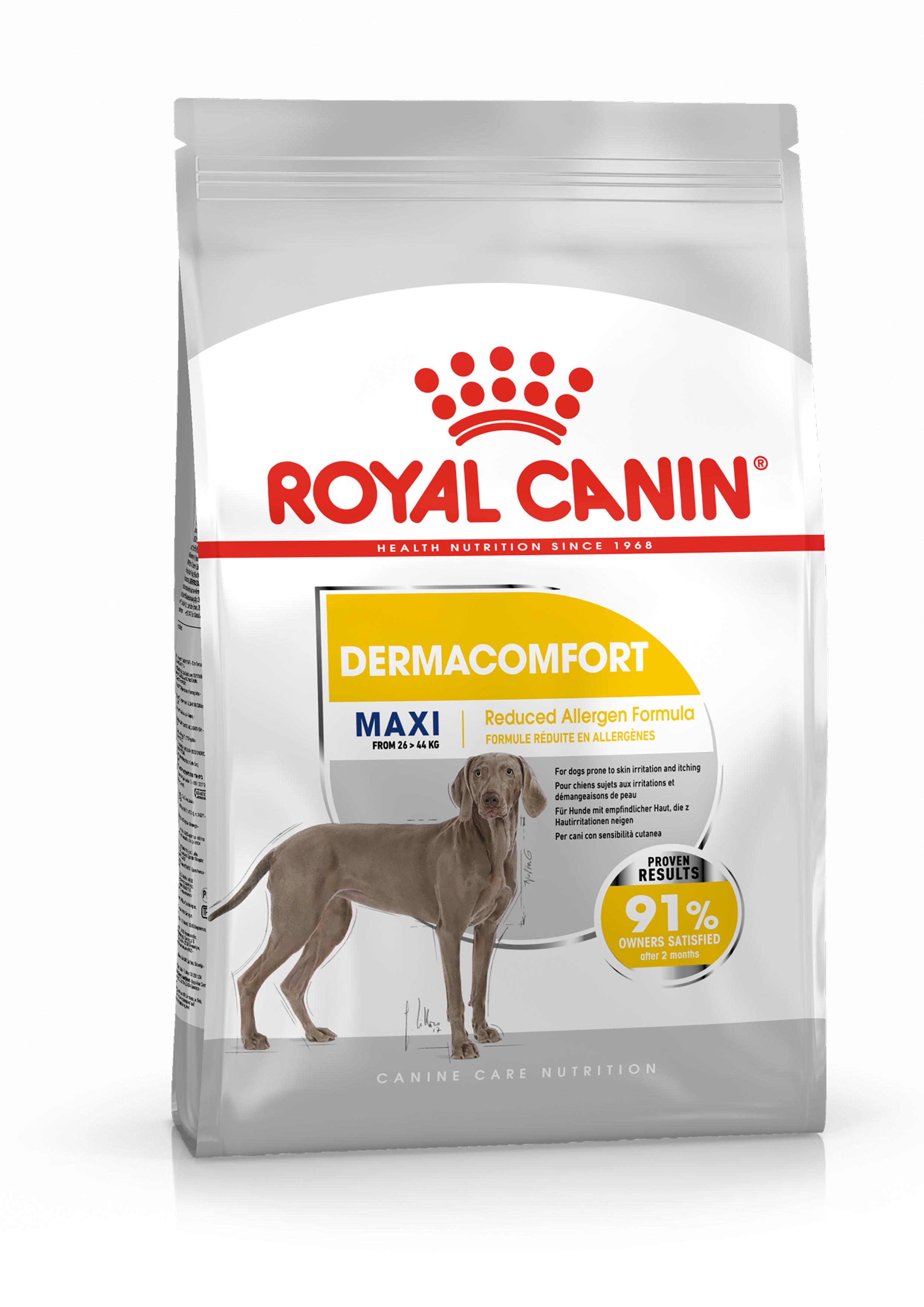 Afbeelding Royal Canin Maxi Dermacomfort hondenvoer 3 kg door Brekz.nl