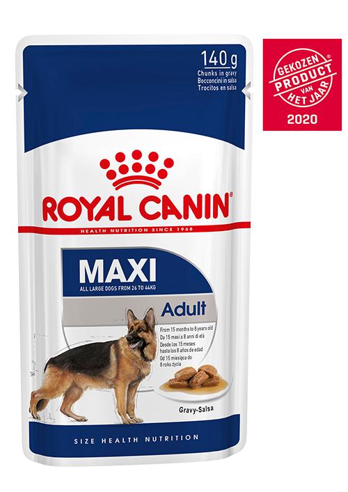 Royal Canin Maxi Adult natvoer 2 x (10 x 140g)
