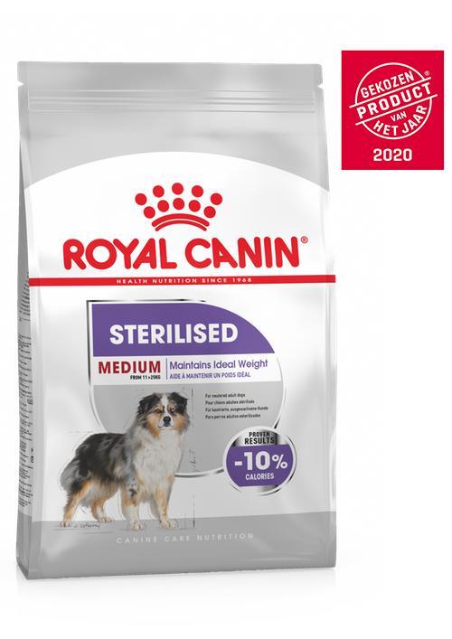 Royal Canin Medium Sterilised hondenvoer 2 x 10 kg