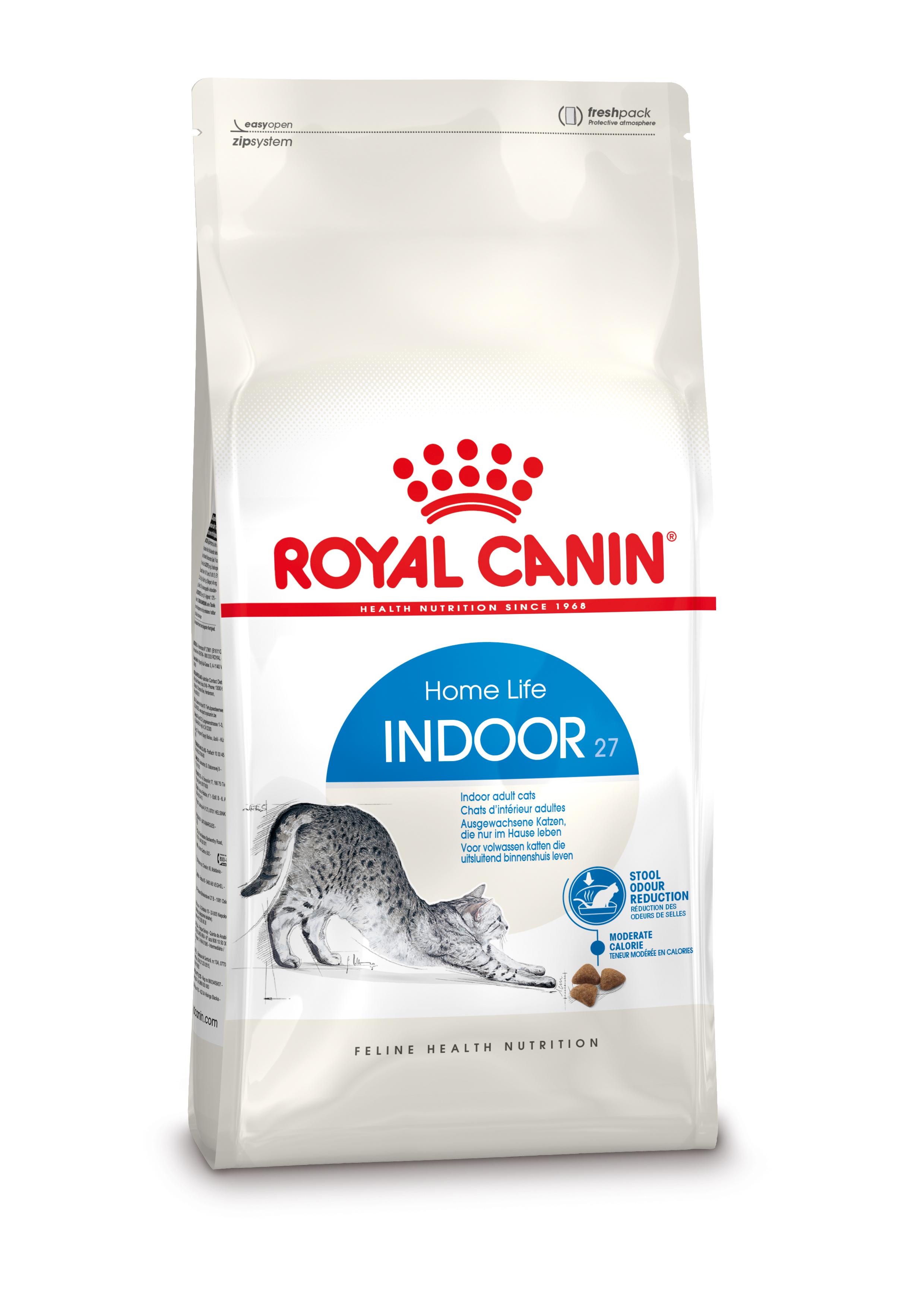 Royal Canin Indoor 27 kattenvoer 10 + 2 kg