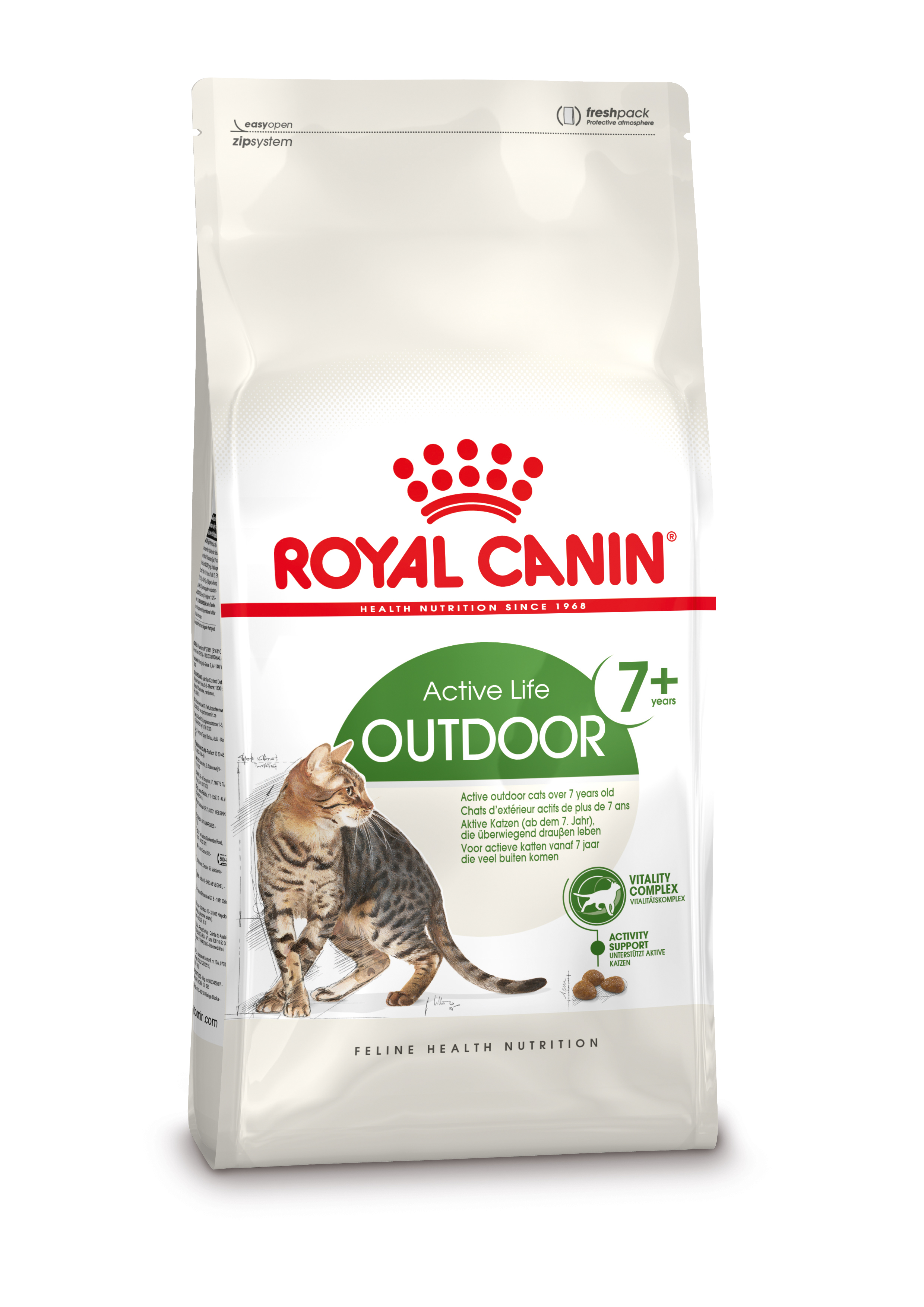 Royal Canin Outdoor 7+ kattenvoer 4 kg