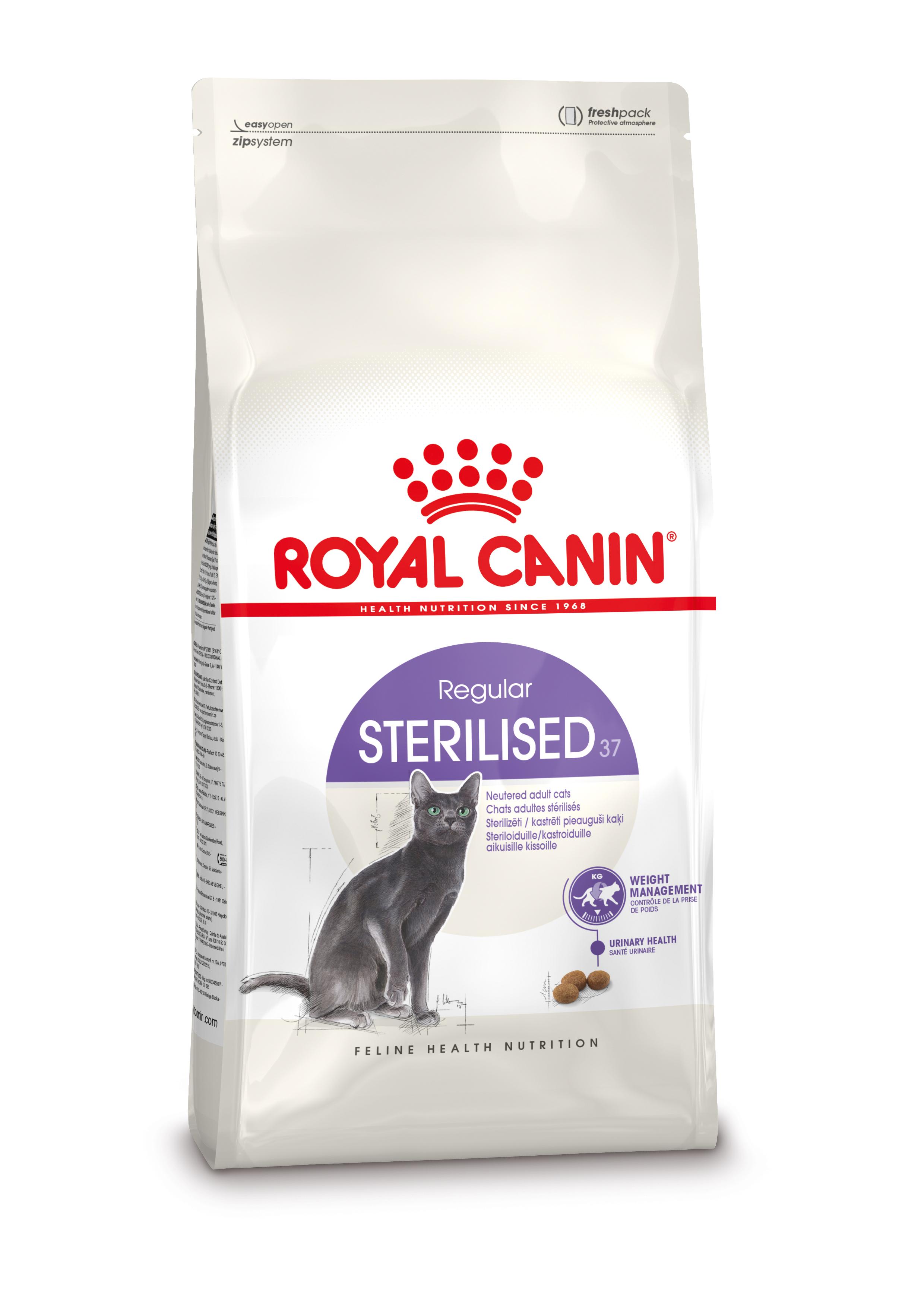 Afbeelding Royal Canin Sterilised 37 kattenvoer 4 kg door Brekz.nl